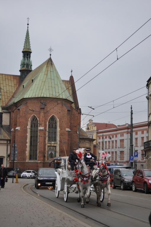 Znalezione obrazy dla zapytania kościół franciszkanów kraków